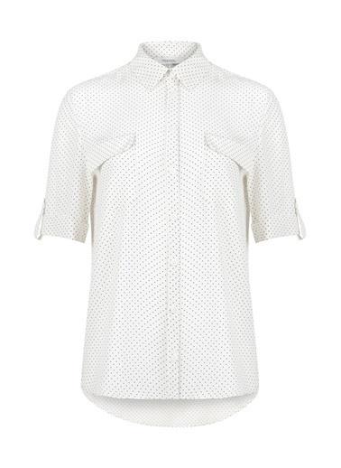 Puantiyeli Gömlek-Ipekyol